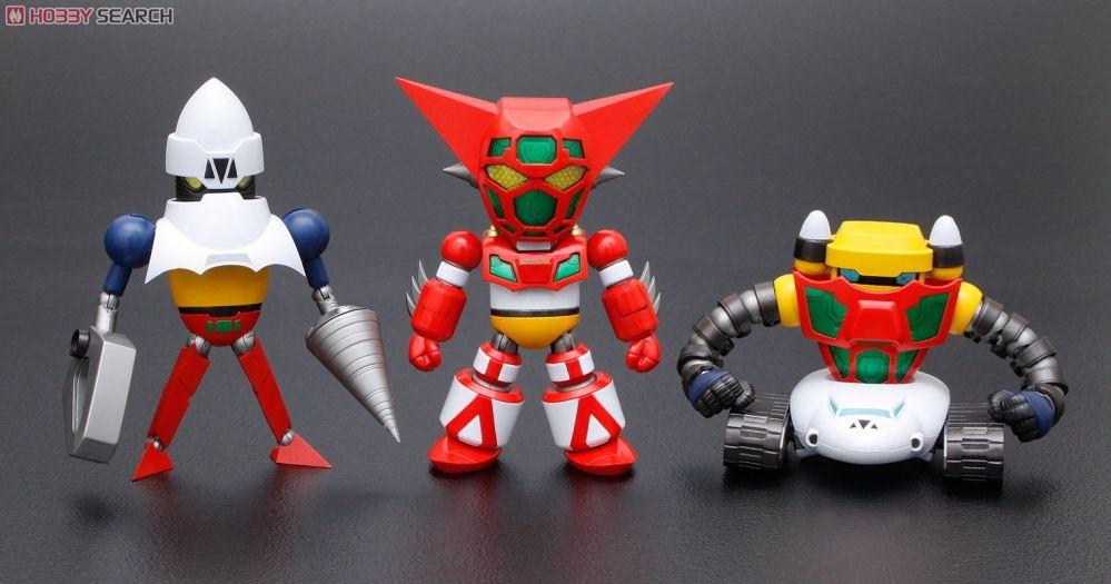 Bandai Super Robot War SRW Gashapon Part 2 Figure New Getter 3 Robo Poiseidon