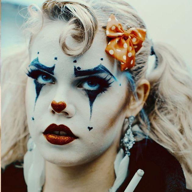 макияж клоун фото   Цирковой костюм, Макияж на хэллоуин и ...
