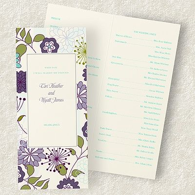 Ask Mara Are Wedding Programs Really Necessary Weddingprograms Weddingbulletins