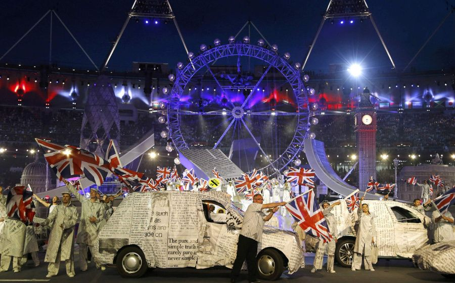 London 2012 Closing Ceremony: In pictures - Mirror Online