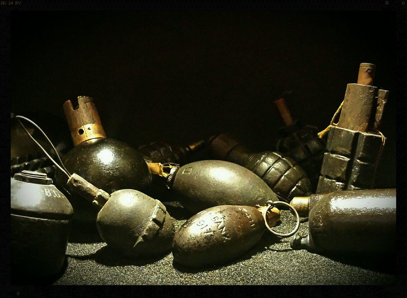 Gas Grenade Cutaway - Year of Clean Water