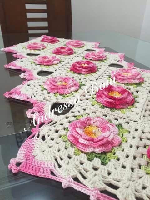 Pin de Miriam Rodriguez en Crochet | Pinterest | Crochet manteles ...