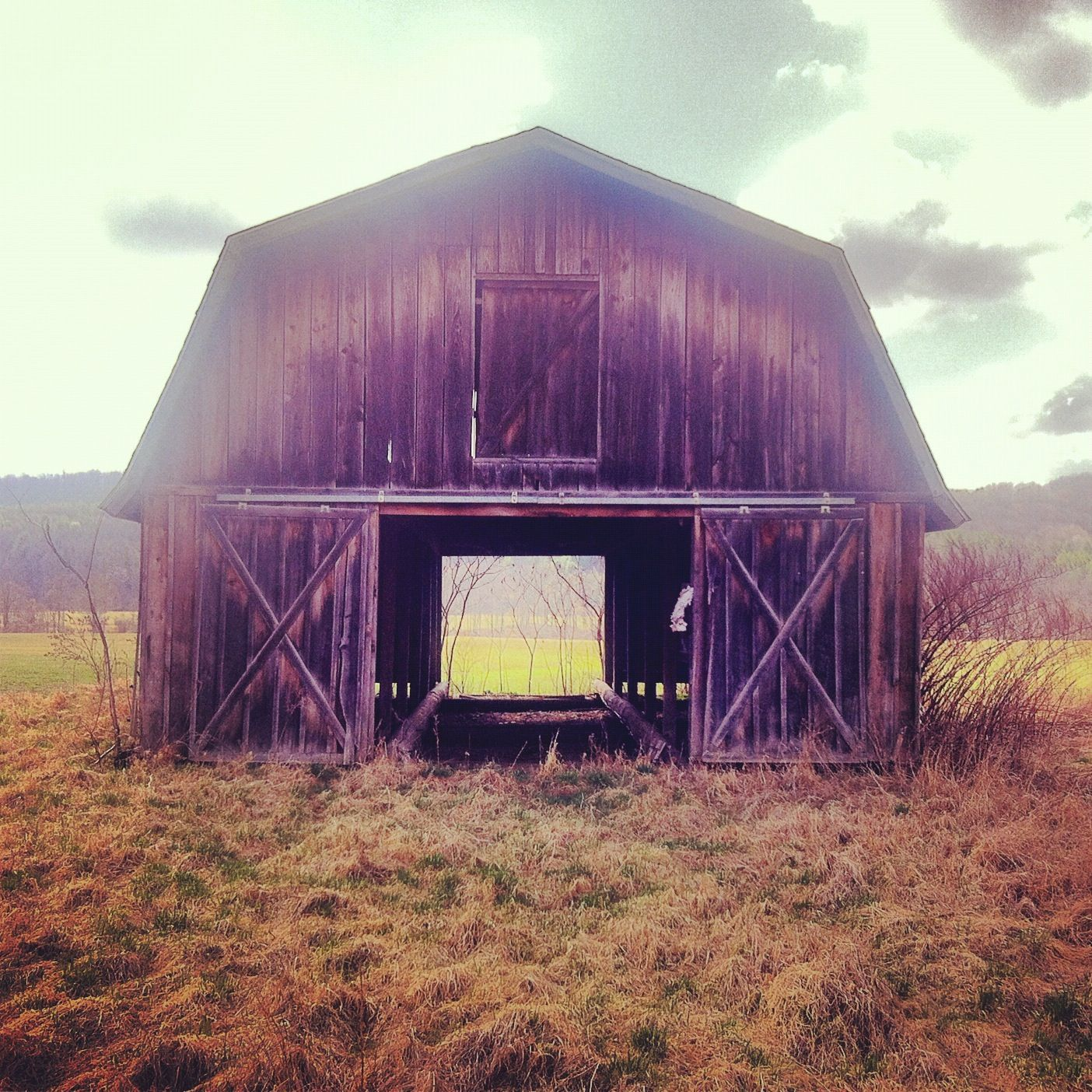 Abandoned: This Is The Way Through. Upstate NY 2012 (With