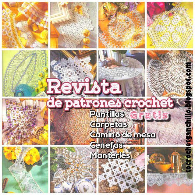 Revista gratis para descargar con patrones crochet para imprimir ...