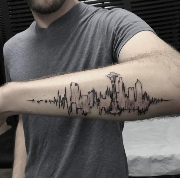 Tatuajes De Lineas Paralelas