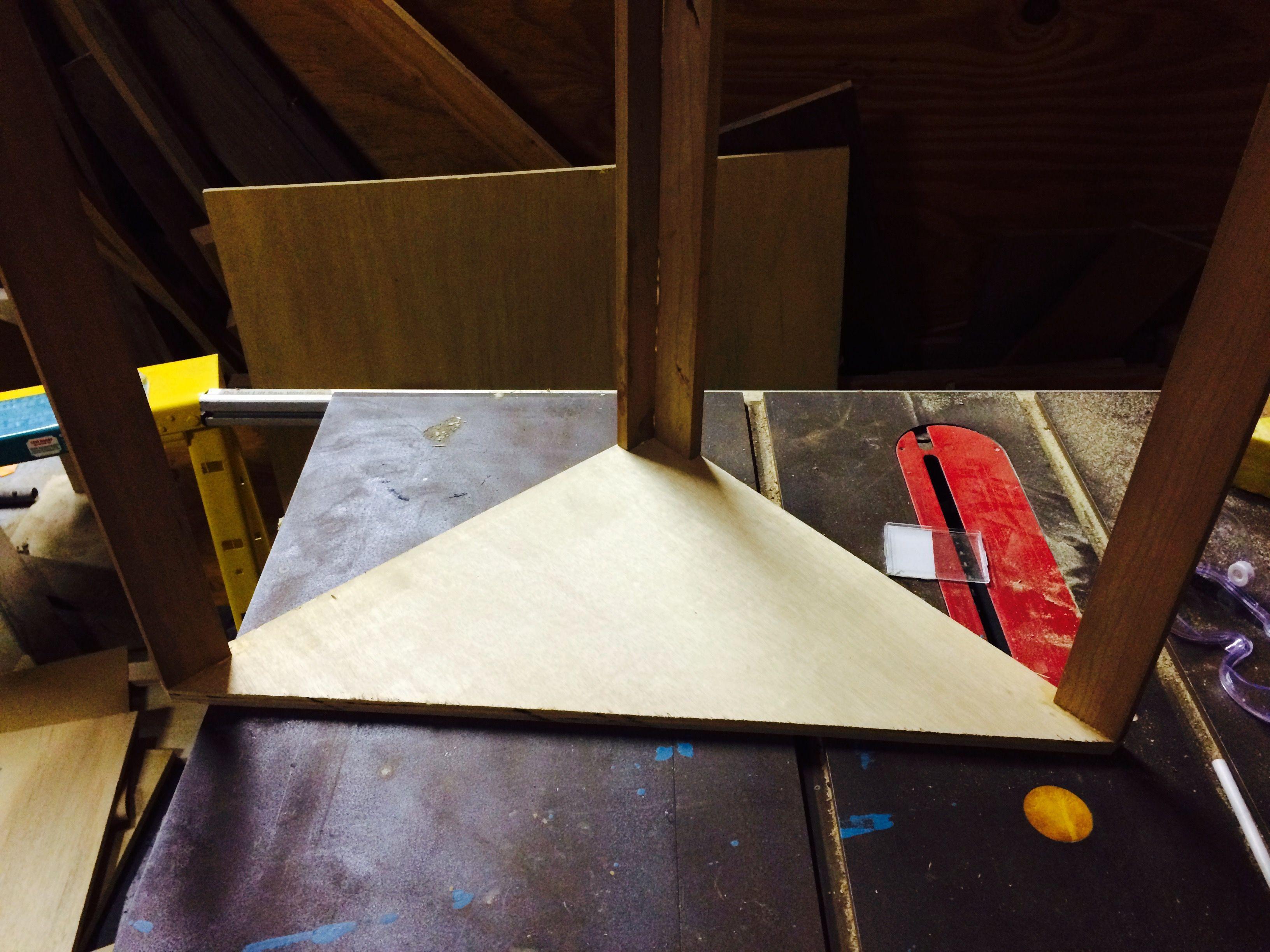 Constructing SuperChunk corner bass trap frame   ASTER ...