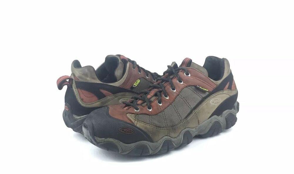 209019df62b Oboz Mens Firebrand II Low Waterproof Leather Hiking/Trail Shoes ...