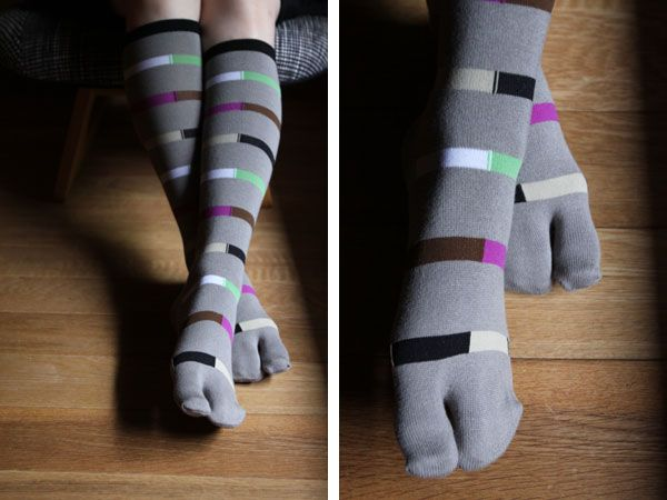 Knee-high tabi socks, from www.sousouus.com  $13.98