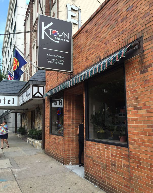 K Town Kitchen And Bar Is Now Open At 9 N 4th St In Downtown Richmond Towns Downtown Richmond