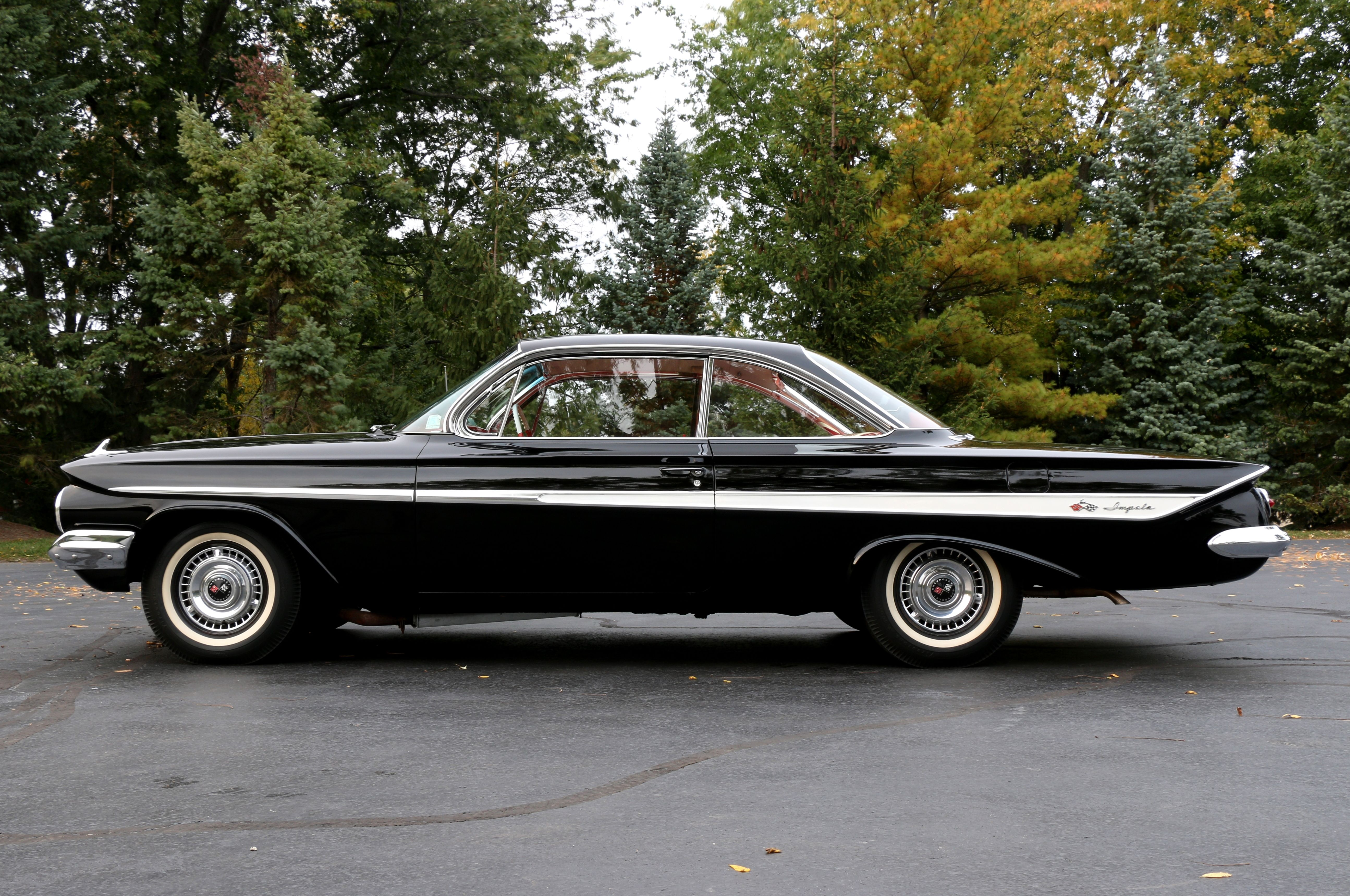 This view of David Steinberg\'s original unrestored Impala shows ...