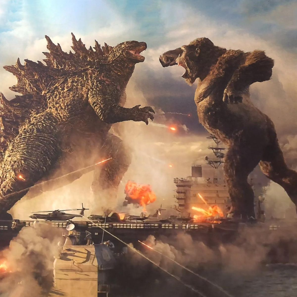 Godzilla Vs Kong Wb Releases First Trailer Two Monsters Lock Horns In An Epic Battle On Worlds In 2021 King Kong Vs Godzilla King Kong Godzilla Vs