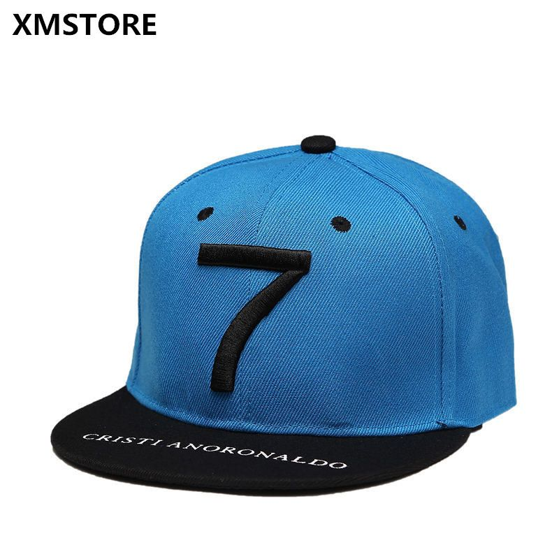 High Quality Cristiano Ronaldo CR7 Football Baseball Cap Hat Summer Sports  Snapback Hats Bone Men Neymar NJR Hip Hop Caps W300 f99ddd3c92a