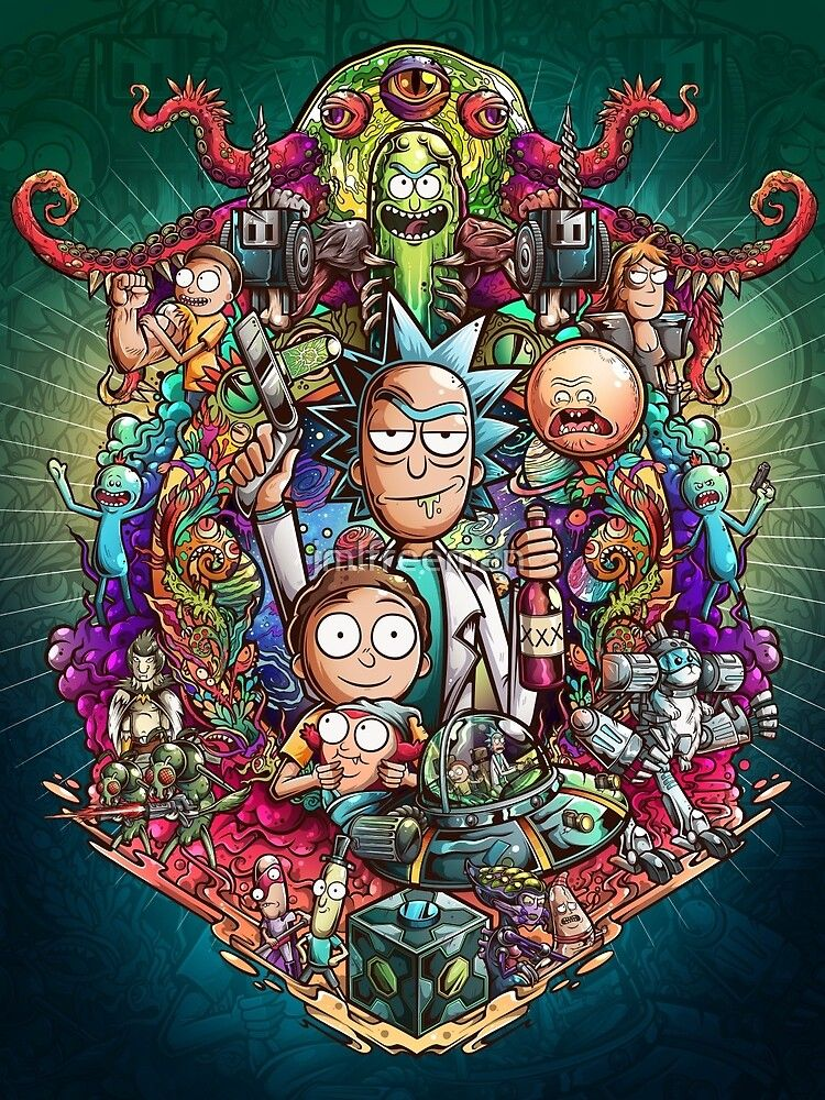 Buckle Up Morty Greeting Card By Jmlfreeman Rick And Morty Tattoo Rick And Morty Poster Rick And Morty Drawing