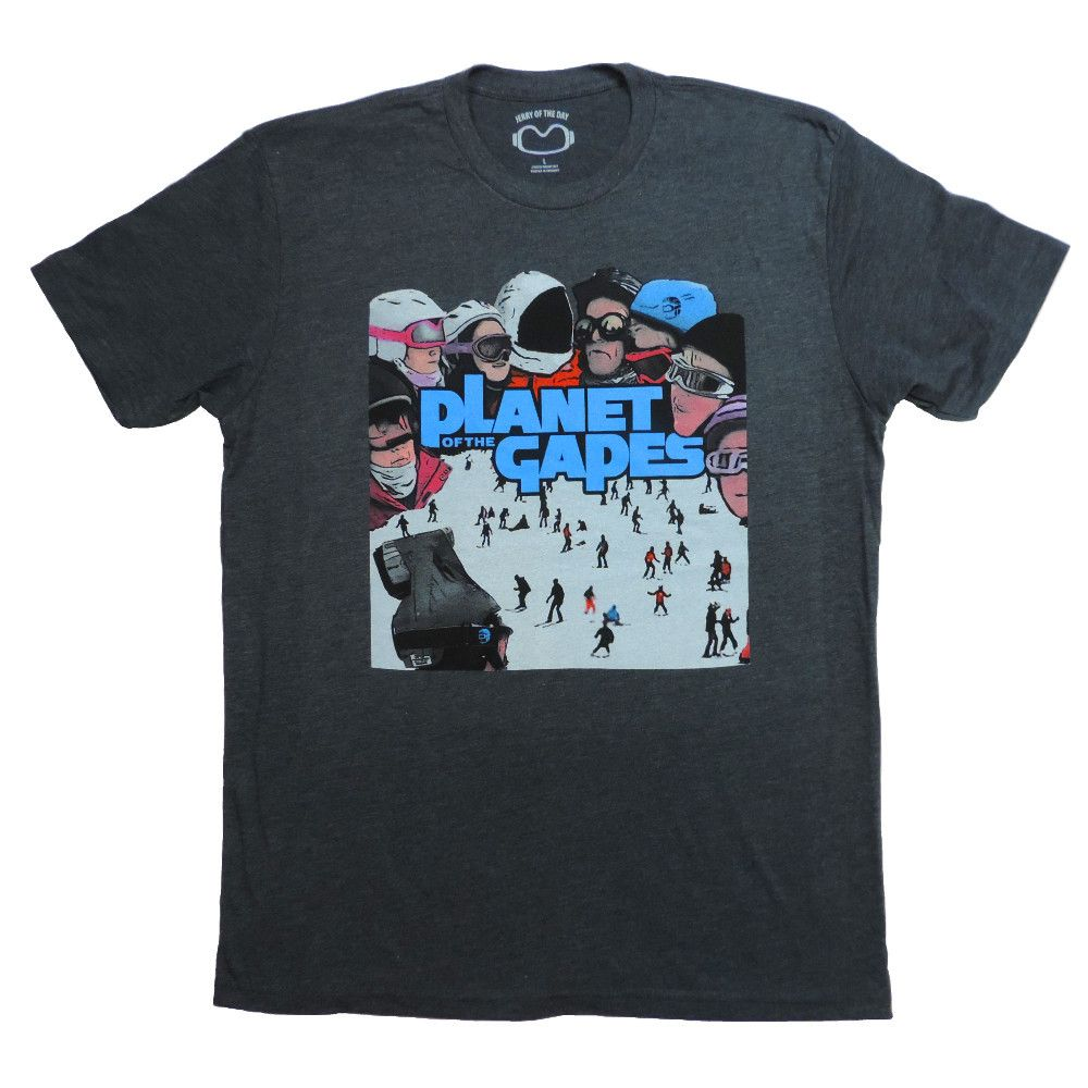 Planet of the Gapes T Shirt (A4)