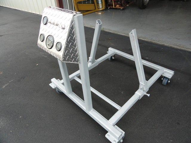 Stand Designs Quiz : Home made engine run stand garage pinterest