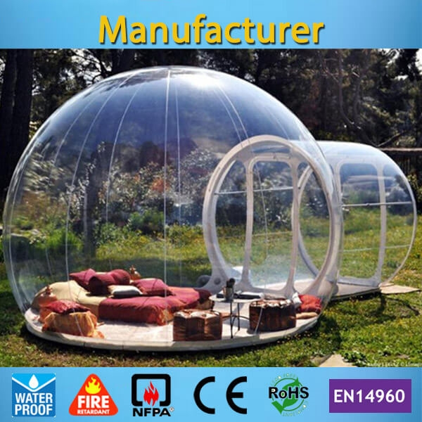 759.00$  Watch now - http://aliqmq.worldwells.pw/go.php?t=32616037147 - Free shipping commercial inflatable clear bubble tent with free CE/UL blower and carry bag 759.00$