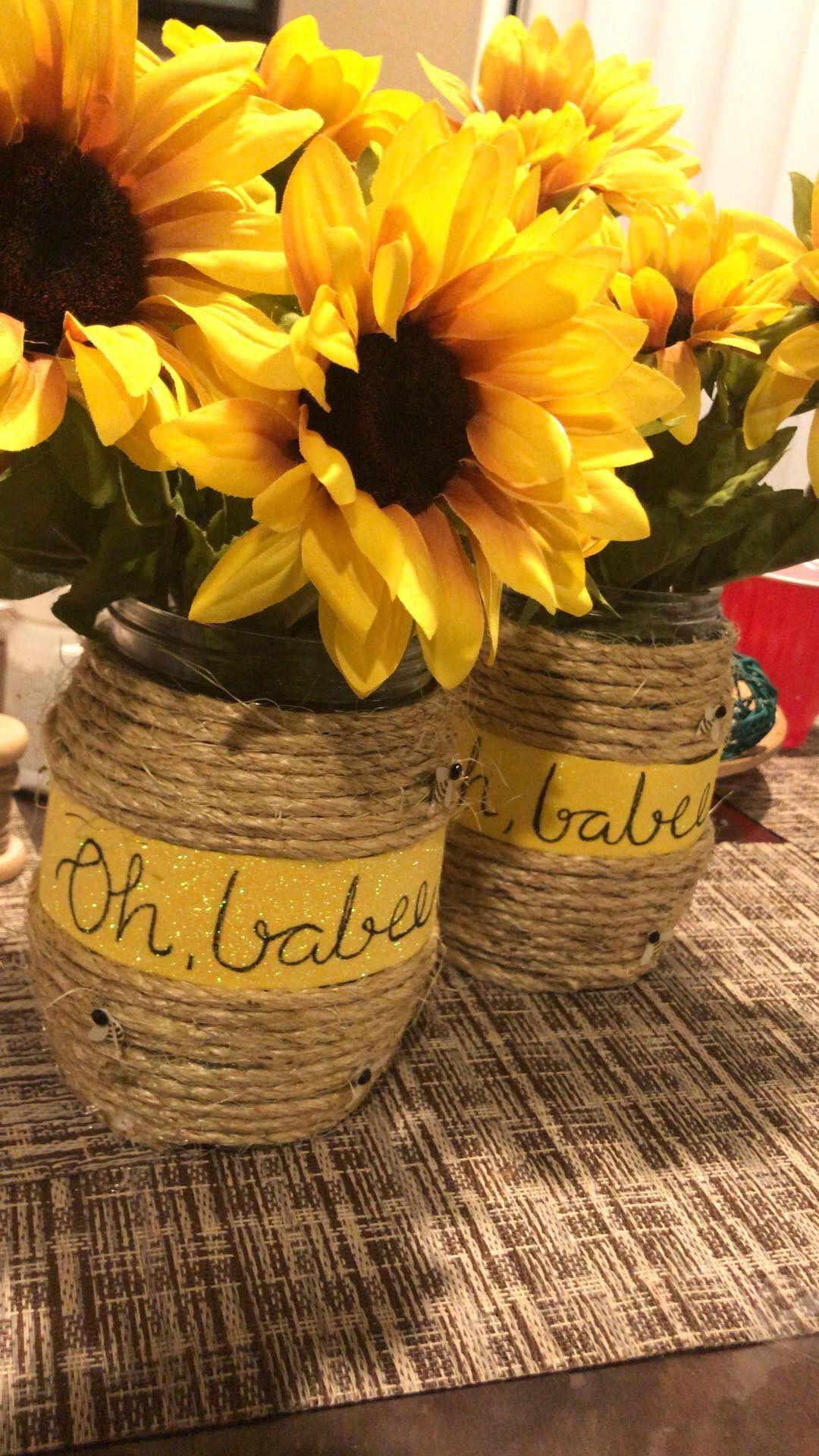 Sunflower Baby Shower, Sunflower Wedding