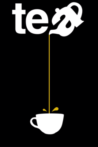 Tea - Pouring from such a great height is only for the most reckless of tea drinkers. Or for those with plastic topped table cloths...                                                                                                                                                      More