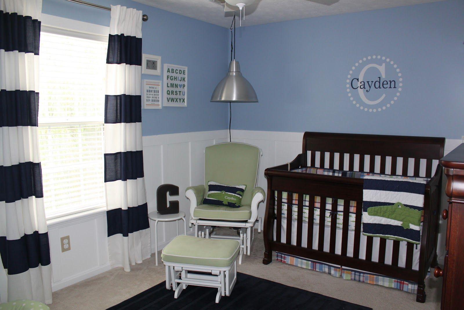 Toddler Boy Alligator Room Ideas Baby Boy Nursery Reveal