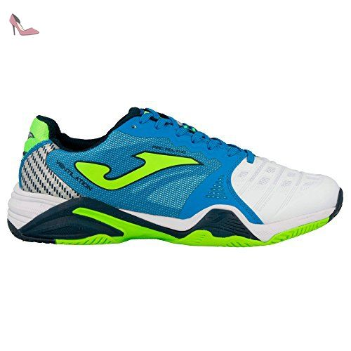 Joma TOP FLEX Indoor–Chaussures de football de salle pour homme, Homme, Bianco