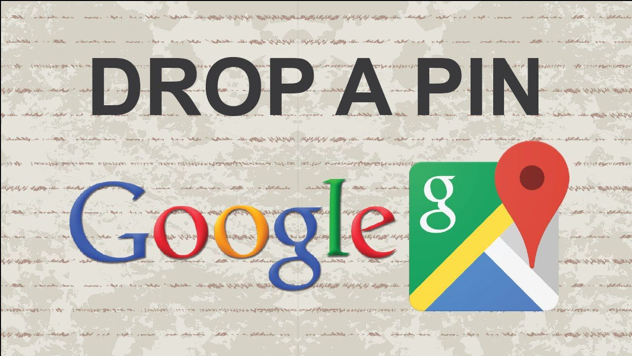 How to drop a pin on Google Maps video youtube tutorial