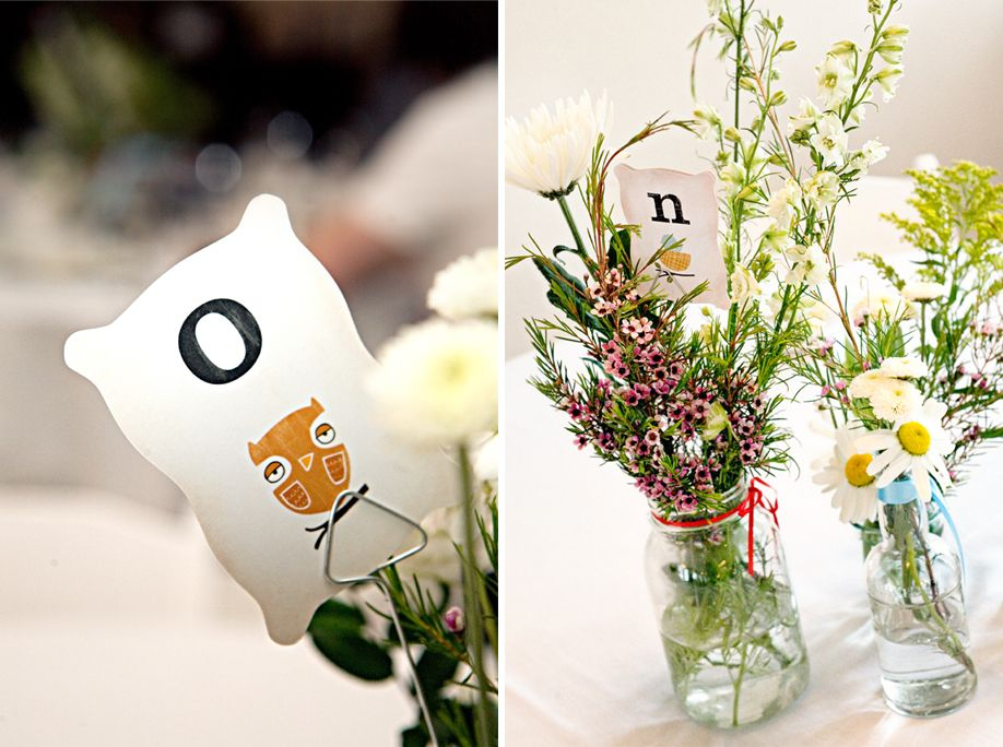 table cards: a cute, clever idea