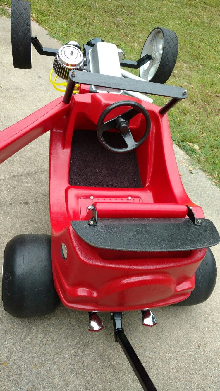Plywood Trunk 1 4 20 Threaded Rod Used Everywhere Except Axle Bike Wagon Kids Ride On Electric Go Kart