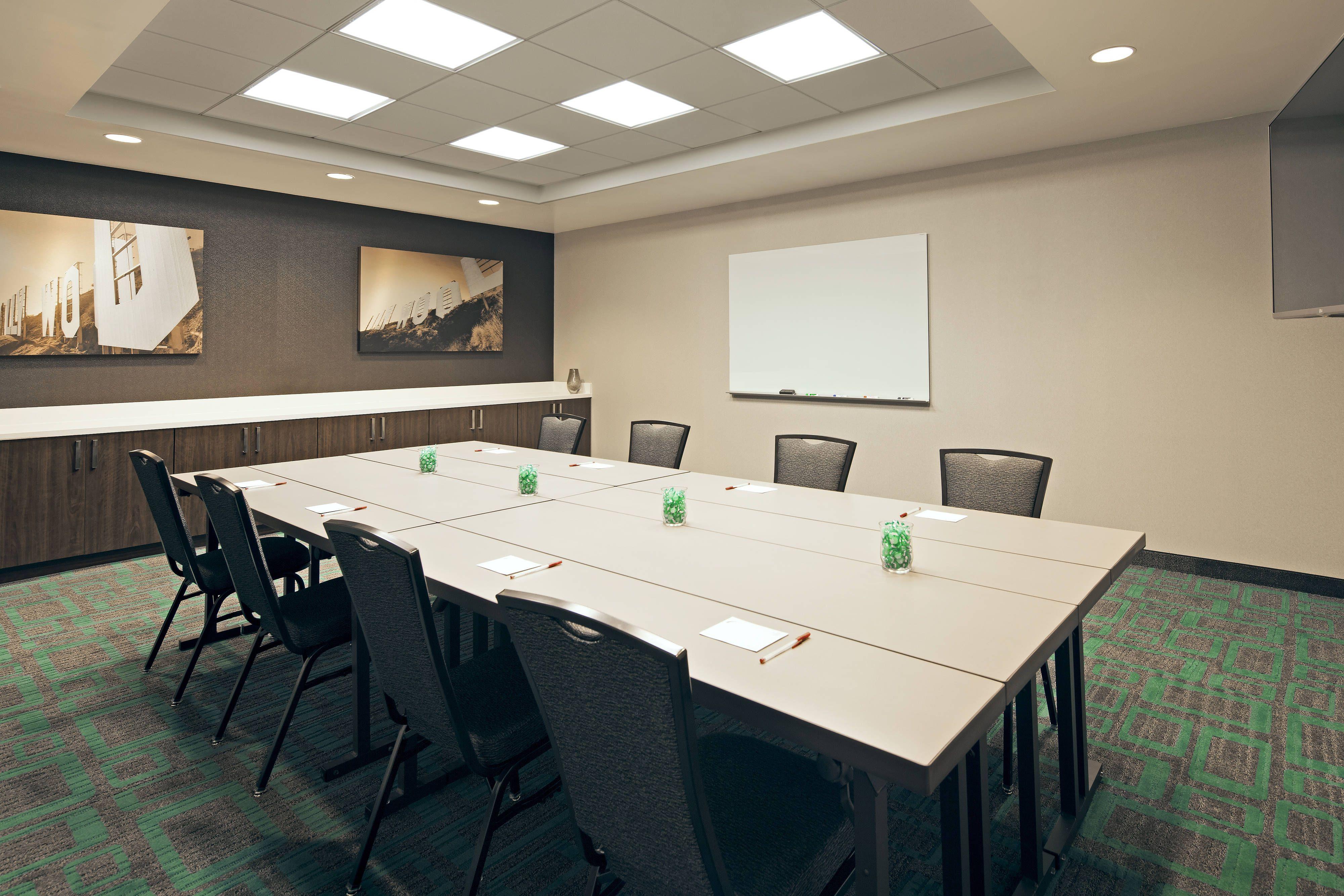 Residence Inn Los Angeles Lax Century Boulevard Meeting Room Boardroom Setup Hotels Relax Hotels Residences Hotel Suites Meeting Room