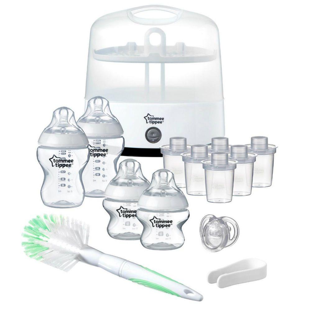 Tommee Tippee Electric Steam Steriliser Set Baby Bottles