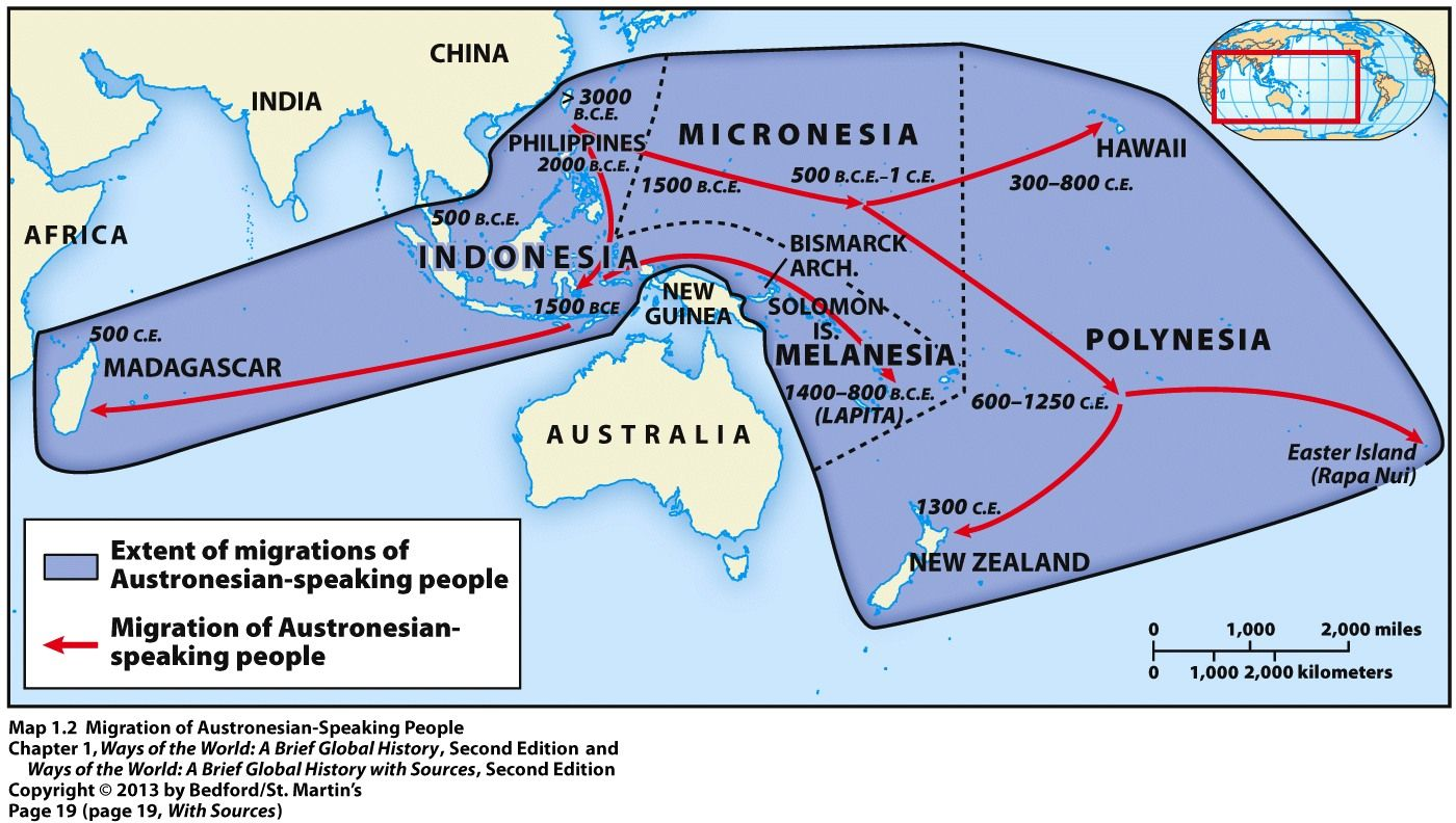 Austronesian Expansion Austronesia Historical Maps Map Island