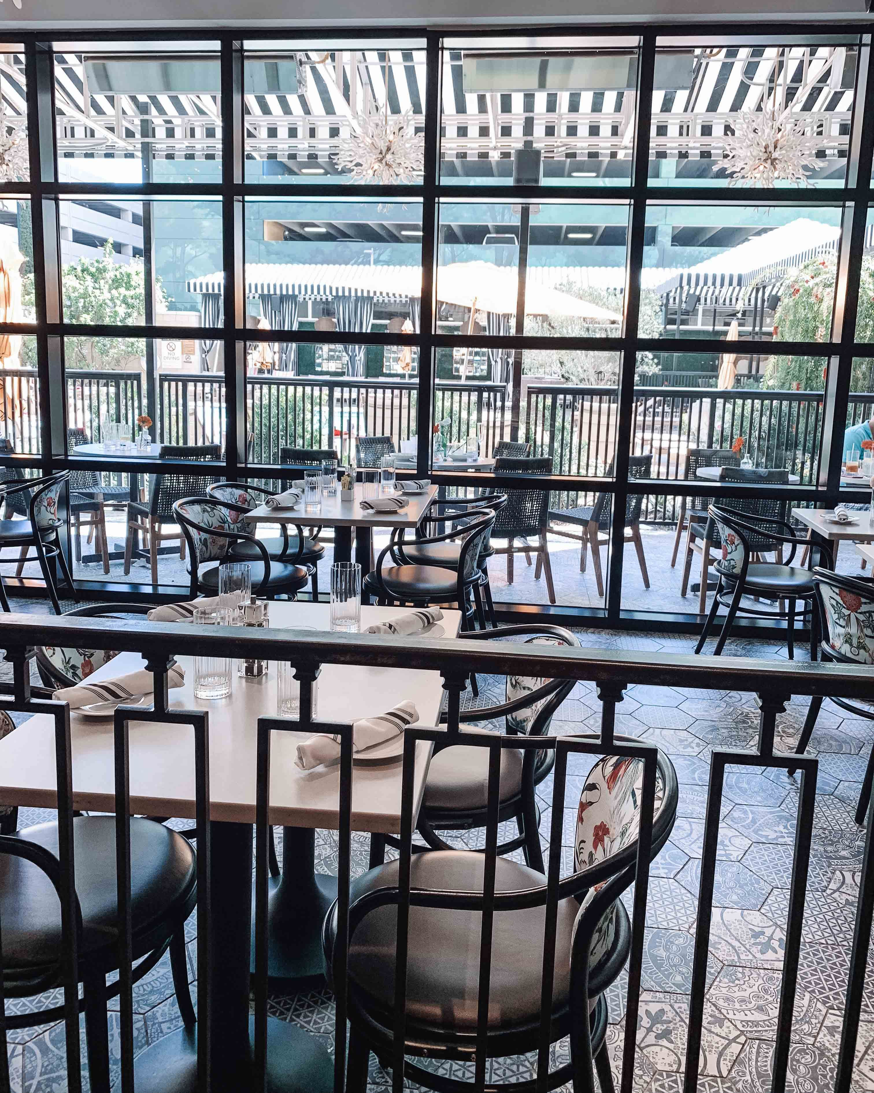 Dining at zaza memorial city in tipping point restaurant