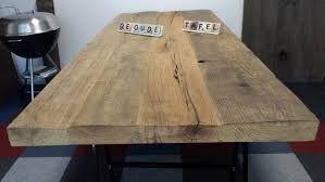 Tafel Planken Kopen De Tafels Van Oude Wagondelen En.