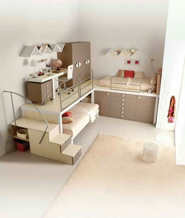 Small bedroom idea - this is really cool!
