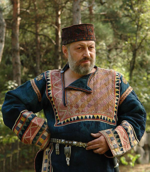 traditional dress from Caucasus