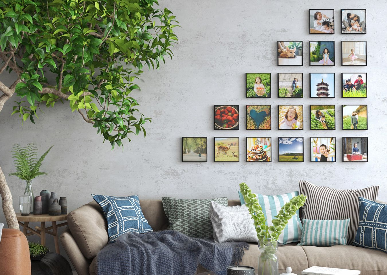 Mixtiles Are Beautiful 8 X8 Photo Tiles That Stick And