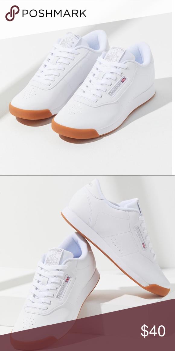 Reebok princess gum sole sneaker