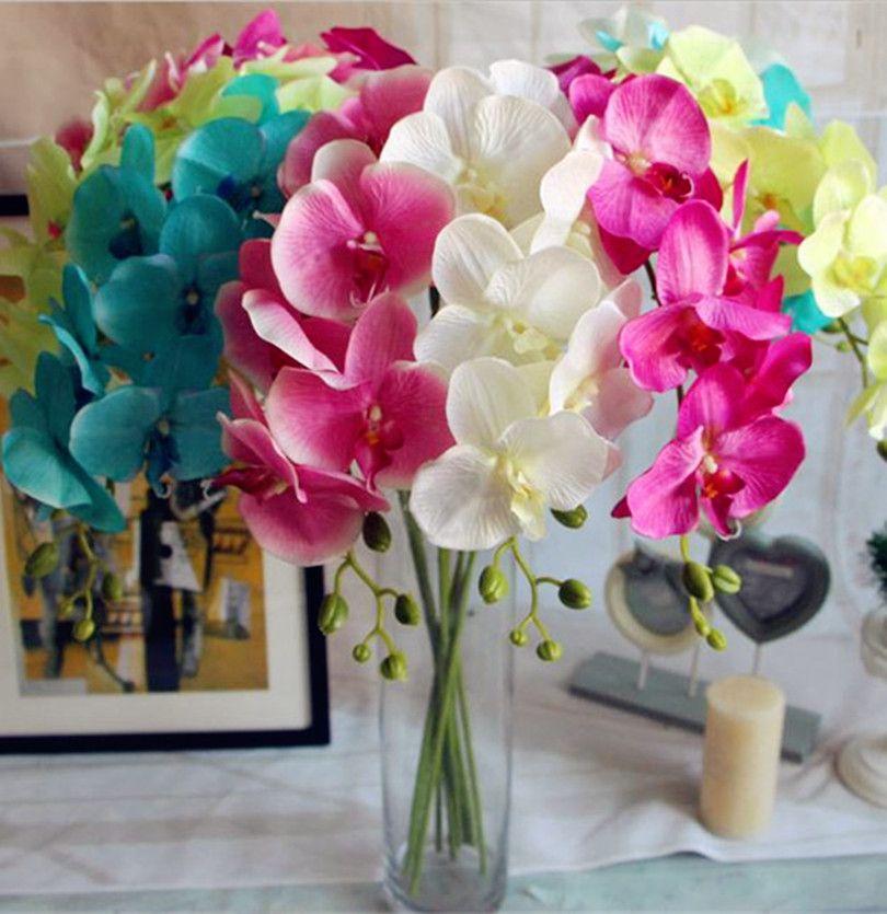 decoracion con flores artificiales para el hogar - Buscar con Google