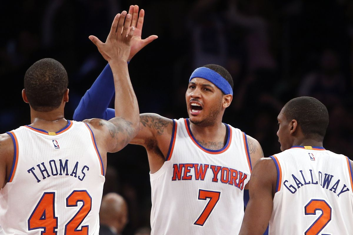 Knicks resurgence fueled by Carmelo Anthony's evolution