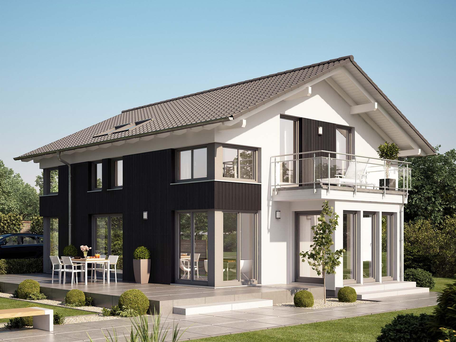 evolution 154 v3 einfamilienhaus von bien zenker. Black Bedroom Furniture Sets. Home Design Ideas