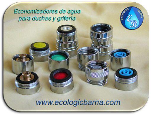 Economizadores de agua para duchas y grifos ecologic for Canillas para ducha