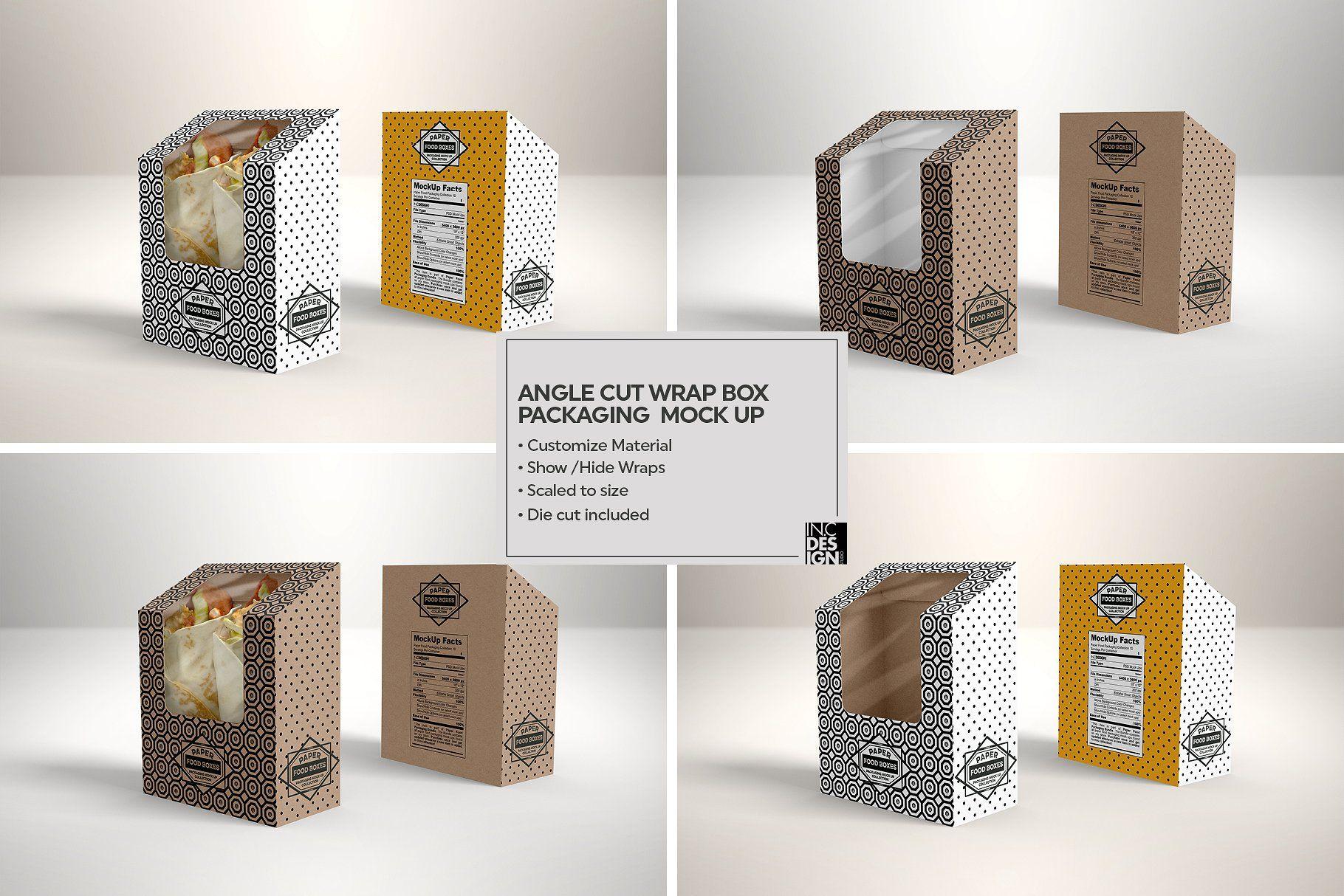 Download Vol 10 Food Box Packaging Mockups Food Box Packaging Packaging Mockup Free Packaging Mockup