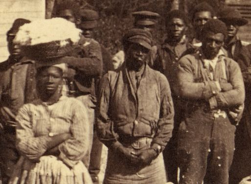 The Enslaved And The Civil War America In Class Resources For History Literature Teachers From The National Humanities Center History Literature Civil War African American History