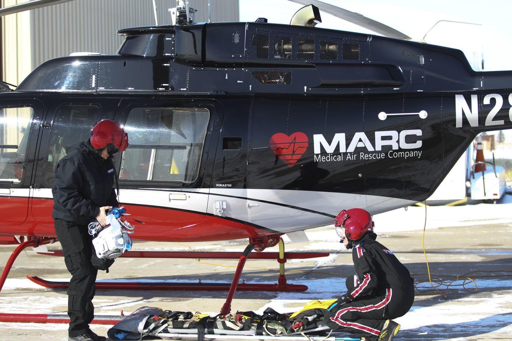 Life flight company MARC leaves Laramie Business