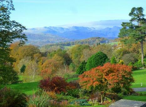 Holehird Gardens Windermere Cumbria