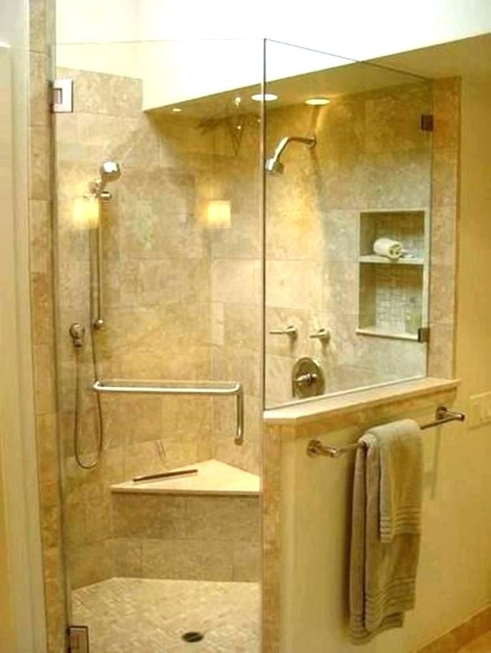 How To Convert A Tub Stand Up Shower Bathtub Walk In Converting Bath Showercurtain Showercurtain Corner Shower Stalls Corner Shower Master Bathroom Shower