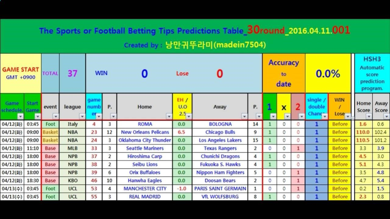 [English]_30round_2016.04.11.001_Football Betting Tips Predictions Table...