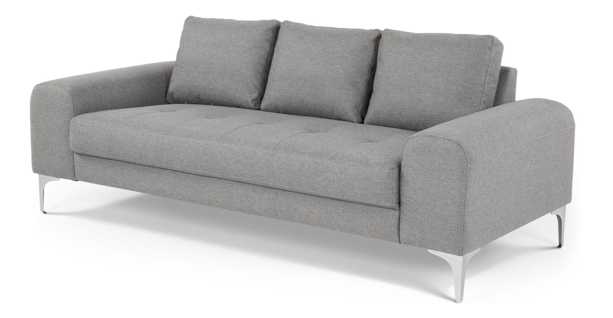 Made Pearl Grey Sofa In 2020 Sofa 3 Seater Sofa Pearl Grey