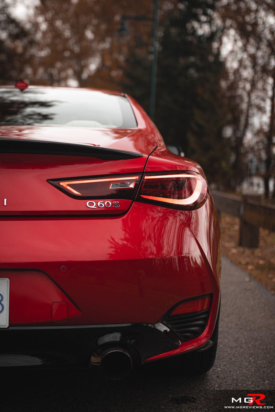 Review 2019 Infiniti Q60 Red Sport 400