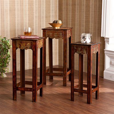 Boston Loft Furnishings ATG5109 Kingston Three Piece Accent Table Set