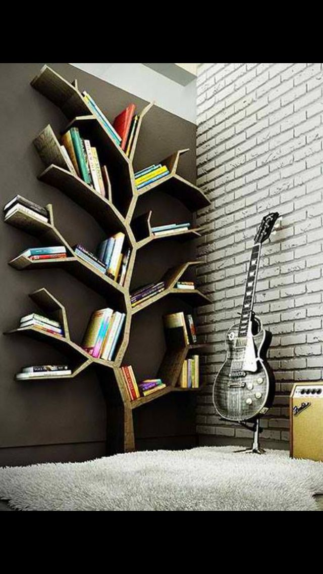 Just a cool idea for a bookcase.
